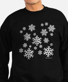 Celtic Snowflakes Sweatshirt (dark)