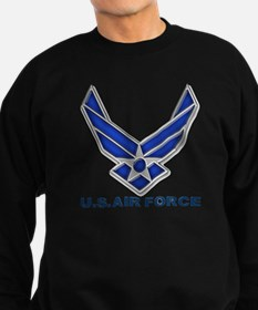 USAF 3 Diamond Symbol Sweatshirt (dark)