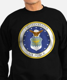 USAF Coat of Arms Sweatshirt (dark)