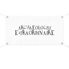 Archaeologist Extraordinaire Banner