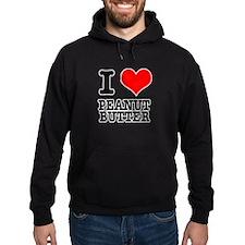 I Heart (Love) Peanut Butter Hoodie