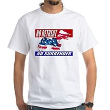 No Retreat American Eagle Shirt