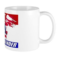 No Retreat American Eagle Mug