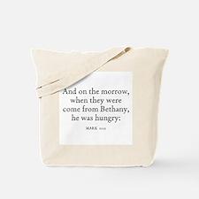MARK  11:12 Tote Bag
