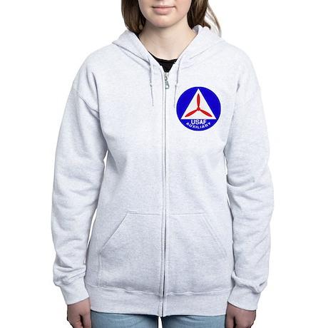 Civil Air Patrol Shield Women's Zip Hoodie