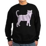 Violet Cat Sweatshirt (dark)