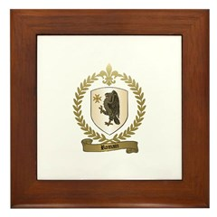 ROMAIN Family Crest Framed Tile