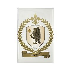 ROMAIN Family Crest Rectangle Magnet (10 pack)