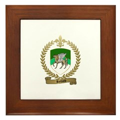 ROLLAND Family Crest Framed Tile