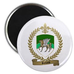 ROLLAND Family Crest Magnet