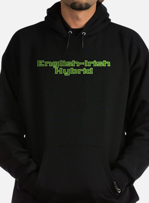 English Irish Hybrid Hoodie (dark)