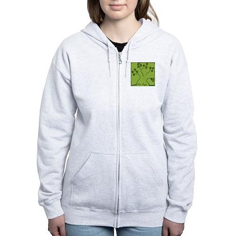 tree-hugger Women's Zip Hoodie