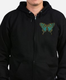 Native Swallowtail Zip Hoodie