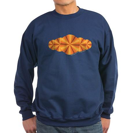 Orange Illusion Sweatshirt (dark)