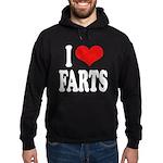 I Love Farts Hoodie (dark)