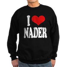 I Love Nader Sweatshirt