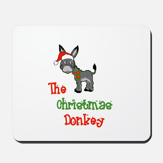 Christmas Donkey Mousepad