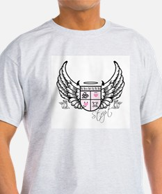 Stript Crest w/ Wings T-Shirt