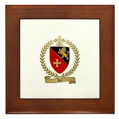 ROI Family Crest Framed Tile