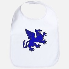 Blue Griffin Bib
