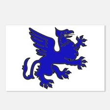 Blue Griffin Postcards (Package of 8)