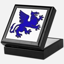 Blue Griffin Keepsake Box
