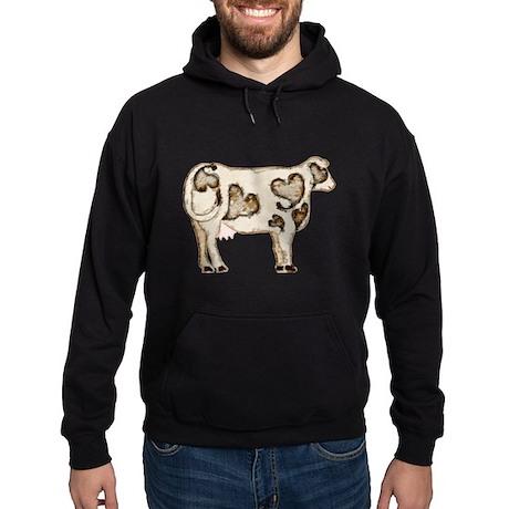 Love Cow Hoodie (dark)