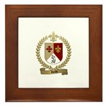 ROCHE Family Crest Framed Tile