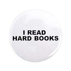 """Hard Books 3.5"""" Button"""