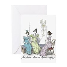 Pride & Prejudice Ch 25 Greeting Card