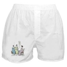 Pride & Prejudice Ch 25 Boxer Shorts