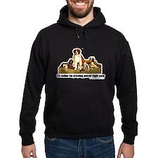 Poker Dogs Hoodie