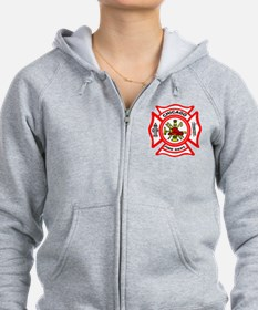 Chicago Fire Department Zipped Hoody