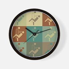 Dentistry Pop Art Wall Clock