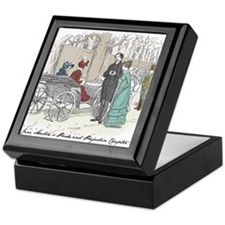 Pride & Prejudice Ch 28 Keepsake Box