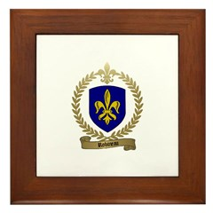 ROBINEAU Family Crest Framed Tile