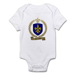 ROBINEAU Family Crest Infant Creeper