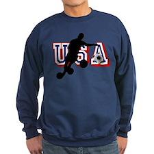 USA Soccer Player Sweatshirt
