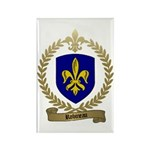 ROBINEAU Family Crest Rectangle Magnet (100 pack)