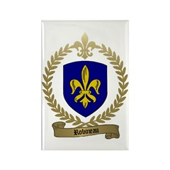 ROBINEAU Family Crest Rectangle Magnet (10 pack)