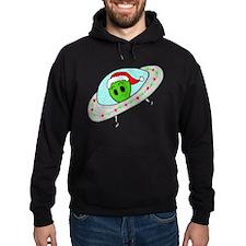 UFO Santa Alien Hoodie