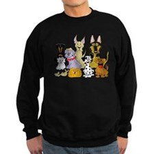 Cartoon Dog Pack Sweatshirt