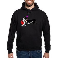 Boston Terrier Christmas Hoodie