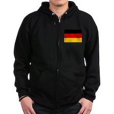 Flag of Germany Zip Hoodie