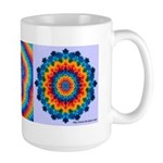 Cross Tie-dye Art Mug,  Large