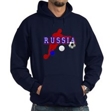 Russian Soccer Player Hoodie