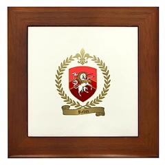 ROBIN Family Crest Framed Tile
