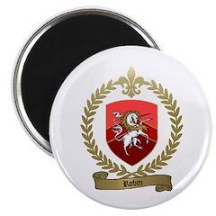 """ROBIN Family Crest 2.25"""" Magnet (100 pack)"""