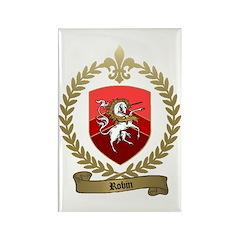 ROBIN Family Crest Rectangle Magnet
