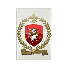 ROBIN Family Crest Rectangle Magnet (10 pack)